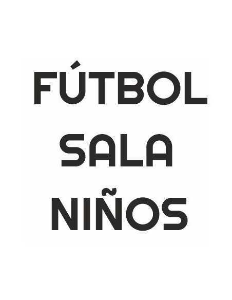 Botas de Fútbol Sala Niño