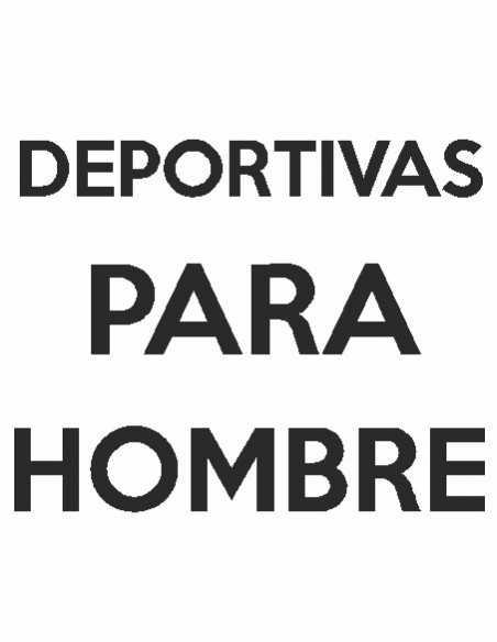 DEPORTIVAS HOMBRE