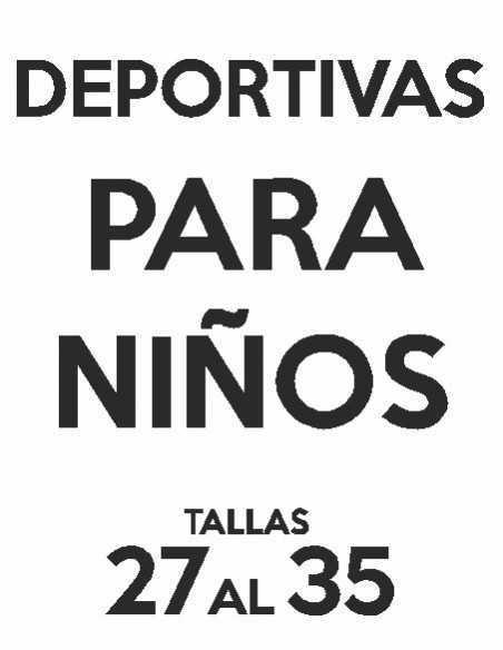 DEPORTIVAS NIÑOS