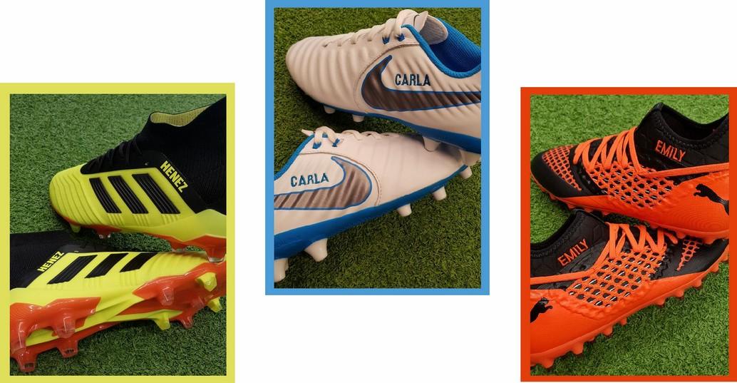 personalizar botas de fútbol